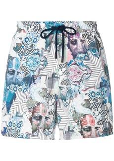 Etro Indian print swimming shorts
