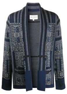 Etro intarsia knit cardigan