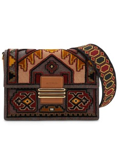 Etro Jacquard Bag W/ Faux Leather Details