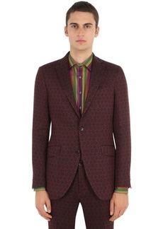 Etro Jacquard Cotton Linen Jacket