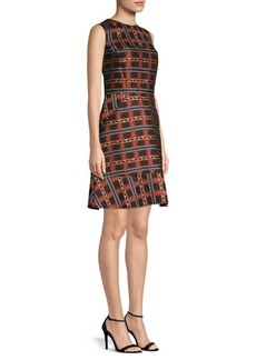 Etro Jacquard Shift Dress