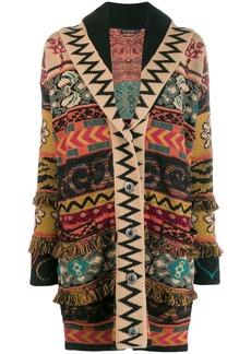 Etro jacquard knit cardigan