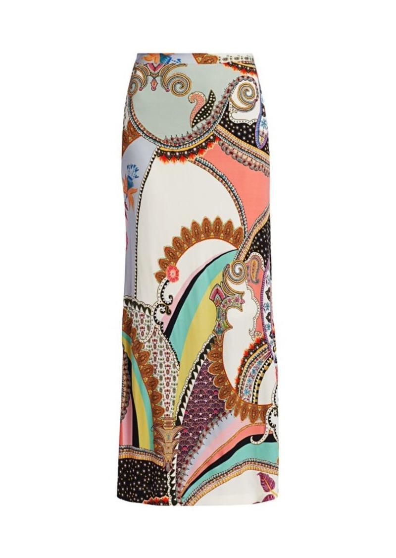 Etro Jersey Maxi Skirt