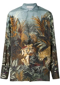 Etro jungle-print shirt
