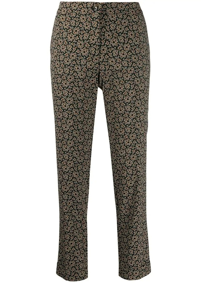 Etro kaleidoscope trousers