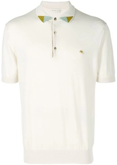 Etro knitted polo shirt