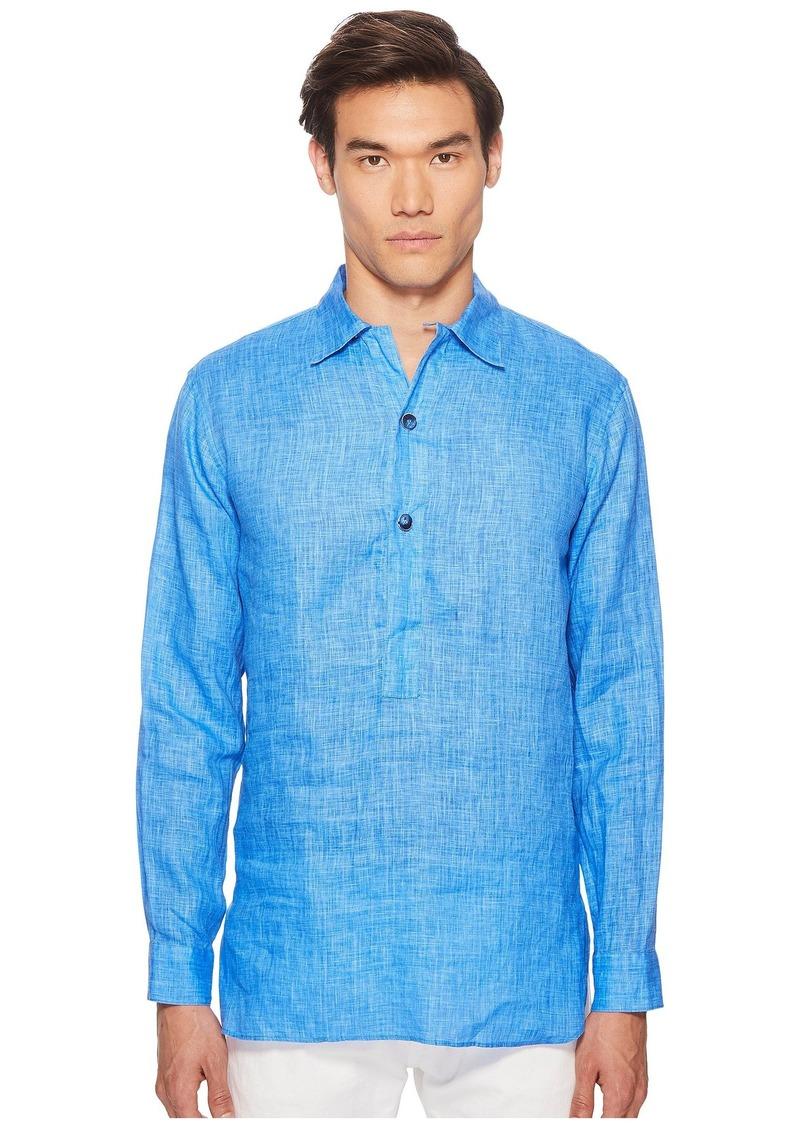 Etro Linen Popover Shirt