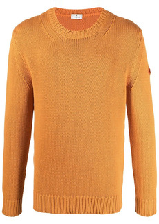 Etro logo-patch knitted jumper