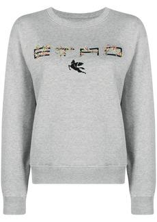 Etro logo-print sweatshirt