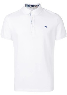 Etro logo short-sleeve polo shirt