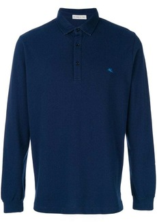 Etro long sleeve polo shirt