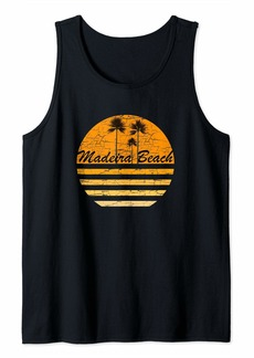 Madeira Beach Vintage Retro T-Shirt 70's Throwback Surf   Tank Top