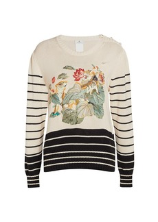 Etro Marinarette Embroidered Knit Sweater