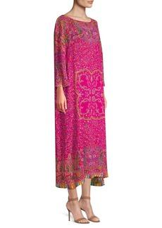 Etro Maxi Floral Kaftan Dress