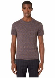 Etro Medallion Crew Neck T-Shirt