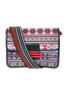 Etro Medium Rainbow Leather & Cotton Bag