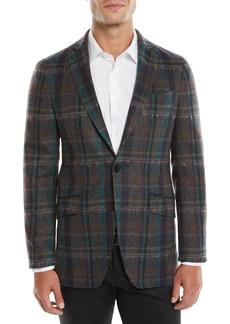 Etro Melange Plaid Sport Coat