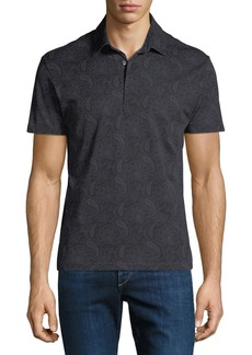Etro Men's Cotton Polo Shirt