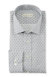 Etro Men's Diamond Dots Sport Shirt