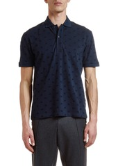 Etro Men's Embroidered Polo Shirt