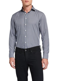 Etro Men's Gingham Sport Shirt