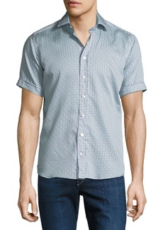 Etro Men's Graphic Short-Sleeve Sport Shirt