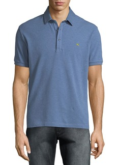 Etro Men's Heathered Polo Shirt