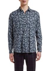Etro Men's Paisley Cotton Sport Shirt