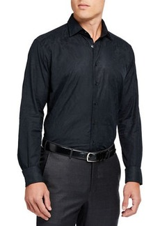 Etro Men's Paisley Jacquard Dress Shirt