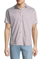 Etro Men's Paisley Short-Sleeve Sport Shirt