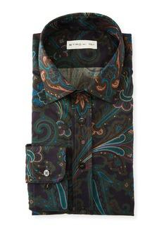 Etro Men's Paisley Swirl Sport Shirt
