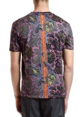 Etro Men's Placed Paisley Graphic T-Shirt