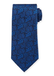 Etro Men's Silk Tonal Paisley Tie