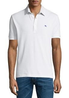 Etro Men's Solid Polo Shirt