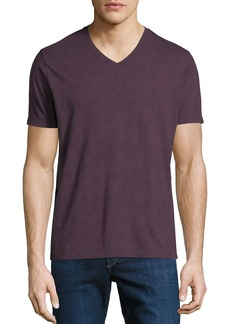 Etro Men's Tonal Paisley V-Neck T-Shirt