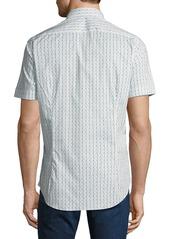 Etro Men's Waves Short-Sleeve Sport Shirt