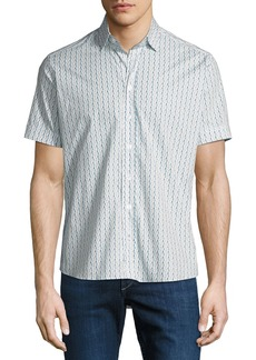 Etro Men's Waves Short-Sleeve Sport Shirt