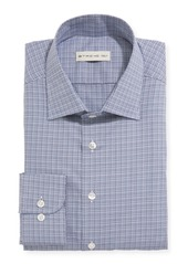 Etro Men's Woven Check Dress Shirt