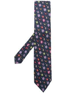 Etro micro-paisley jacquard tie