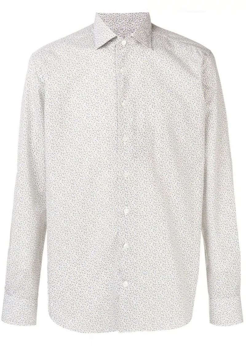 Etro micro-paisley print shirt