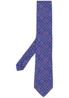 Etro micro paisley print tie