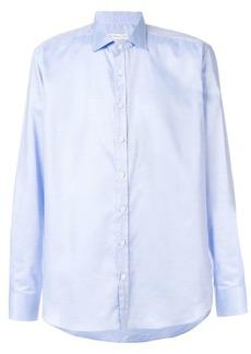 Etro micro pattern long-sleeve shirt
