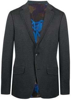 Etro micro print blazer
