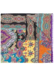 Etro micro print scarf