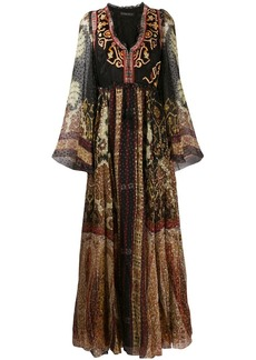 Etro Moroccan mosaic maxi dress