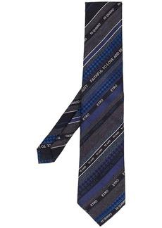 Etro multi-pattern tie