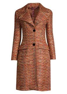 Etro Multi-Tweed Princess Coat