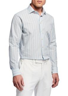 Etro Multicolored Check Sport Shirt