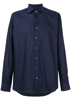 Etro muted patterned shirt