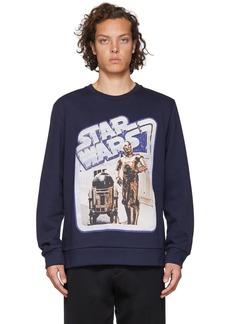 Etro Navy Star Wars Edition Droids Sweatshirt